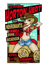 Reverend Horton Heat, Nekromantix and Deke Dickerson